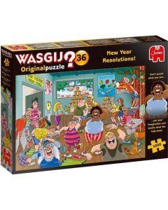 WASGIJ ORIGINAL 36 - GOEDE VOORNEMENS! (1000)