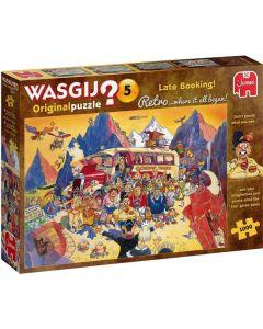 WASGIJ RETRO ORIGINAL 5 - LAST-MINUTE BOEKING! (1000)