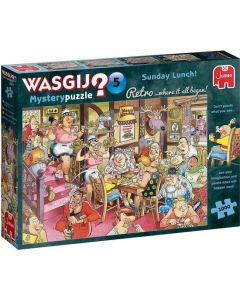 WASGIJ RETRO MYSTERY 5 - ZONDAGSE LUNCH! (1000)