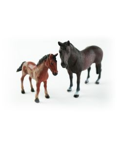 JollyHorses: Hanover paard + veulen + hek
