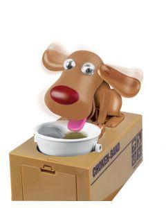 JollyGadget Spaarpot Hond - bruin