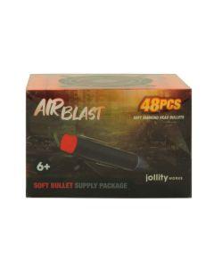 AIRBLAST: Softbullet box  48 st.