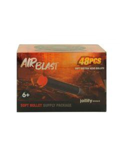 AIRBLAST: Suction Bullet box 48 st.