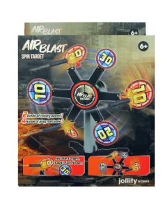 AIRBLAST: Spin target
