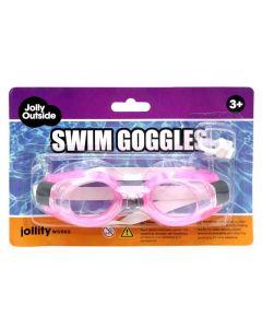 Kleine duikbril roze