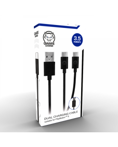 PS5 Y-cable 3,5 meter