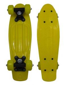 """RiDD Penny board 17"""" - geel"""